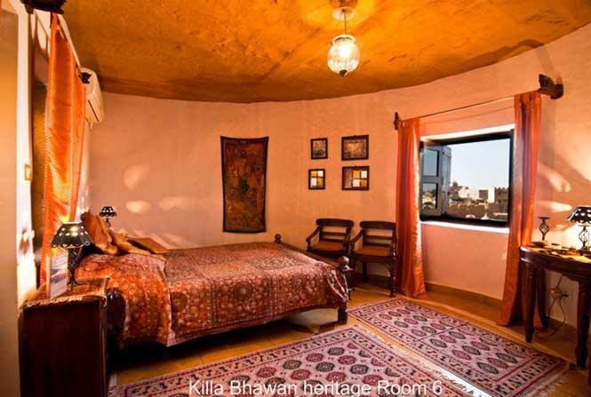 Jaisalmer Fort Hotel Killa Bhawan Heritage