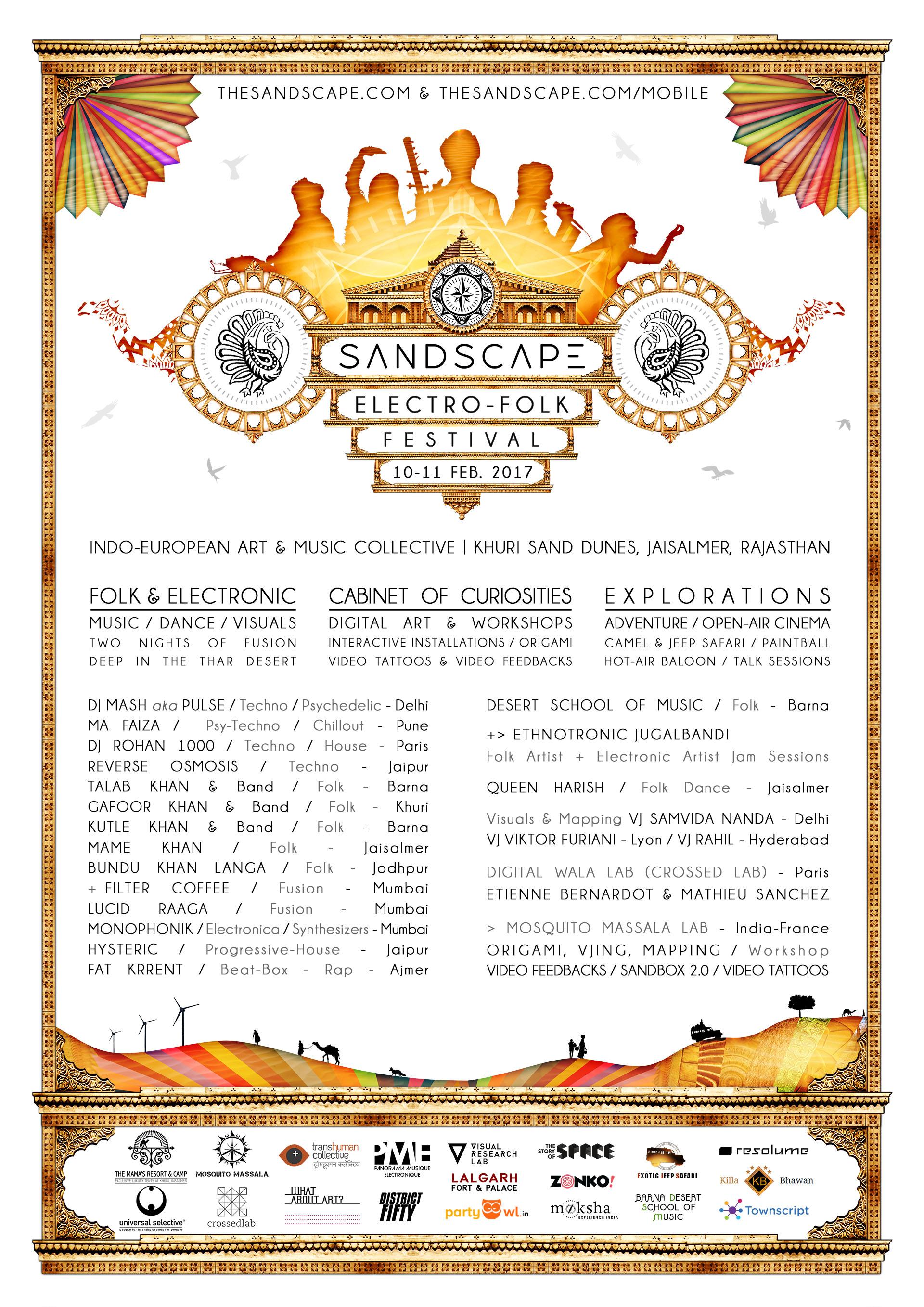 Sandscape Festival Jaisalmer