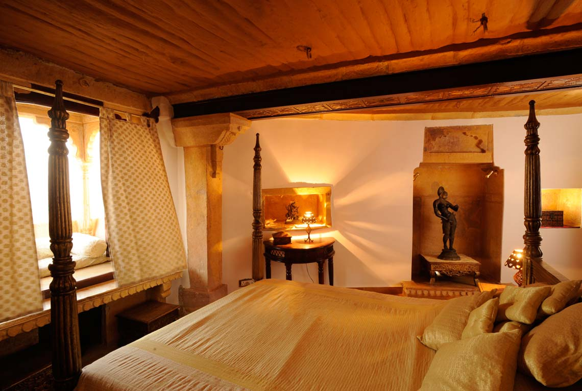 Jaisalmer Fort Hotel Killa Bhawan Deluxe Heritage