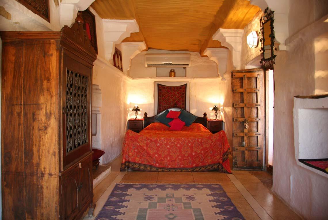 Jaisalmer Fort Hotel Killa Bhawan Heritage Family