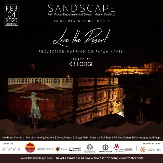 Sandscape 2020 - KB Lodge party